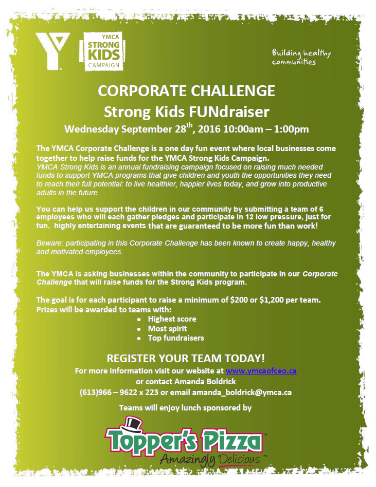Corporate Challenge Information